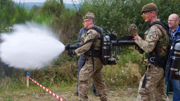 Running from 19th to 30th September, a recent NATO sponsored exercise has examined the use and effectiveness of non-lethal weapons in land operations.