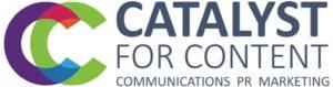 Catalyst For Content logo horiz colour