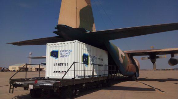 Successful test flight for EDA 3D-printing lab