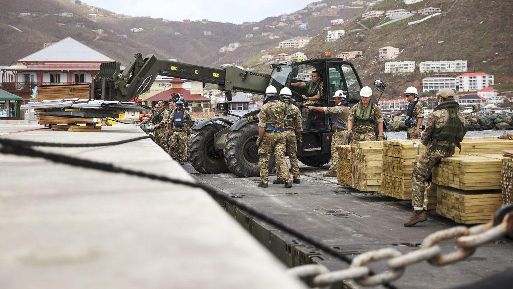 Royal Navy aids British Virgin Islands recovery post-Hurricane Irma