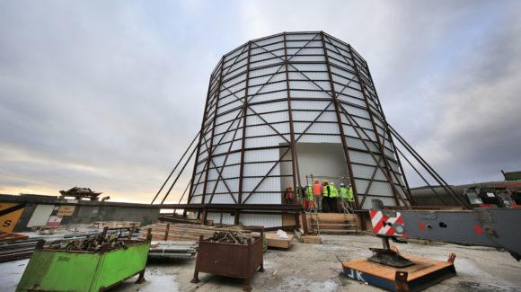 New RAF radar facility close to completion