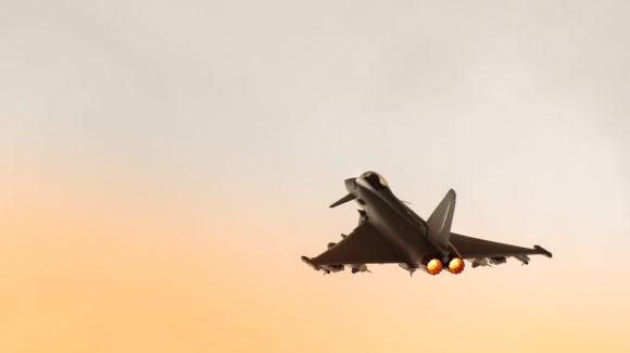 UK Typhoons arrive in Qatar for EPIC SKIES II