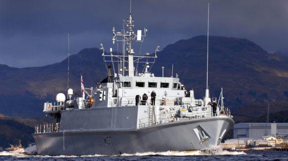 HMS Pembroke returns to action after Fife refit