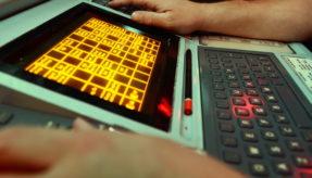 Royal Navy Radar Keyboard
