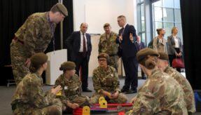 Cadet Expansion Programme reaches 500 unit target