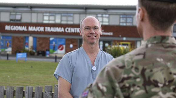 Family values RAF Reservist's virus response
