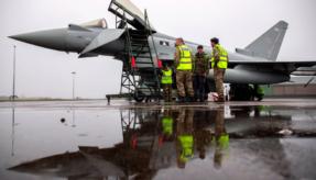 Runway works reach milestone at RAF Lossiemouth as aircraft return