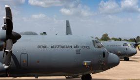 Ka-Band fitted on second RAAF C-130J Hercules