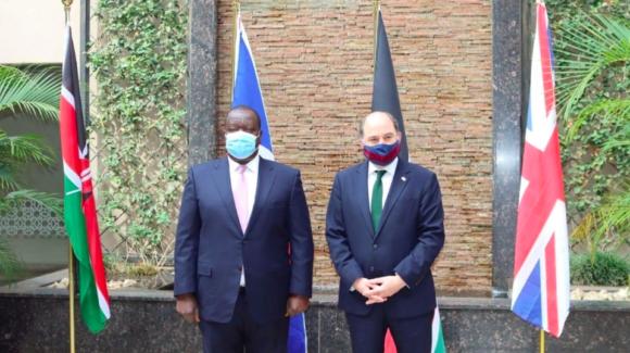 Defence Secretary visits Kenya and Somalia to discuss security
