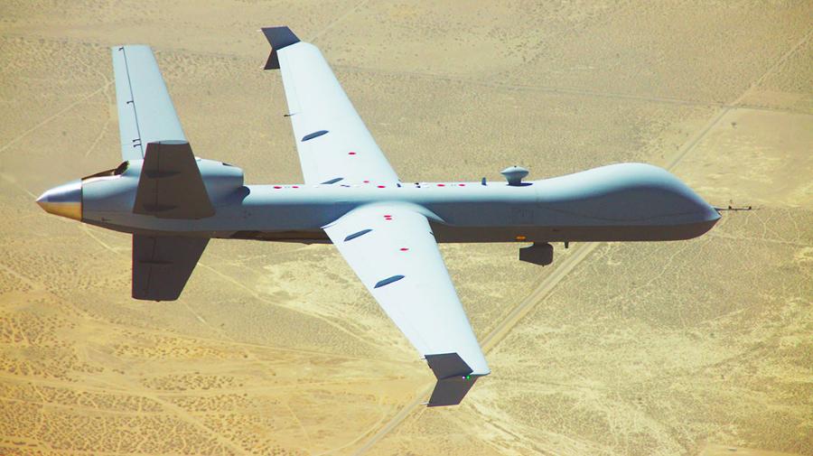 GA-ASI demonstrates BLOS Command & Control over HF using MQ-9