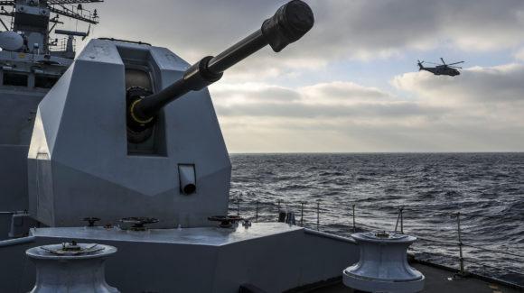 Babcock awarded contract extension for Royal Navy 4.5 medium calibre gun