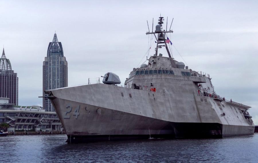 GE's LM2500 gas turbines power USS OAKLAND Littoral Combat Ship
