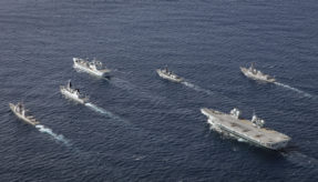 UK carrier strike group to sail to India on its maiden deployment