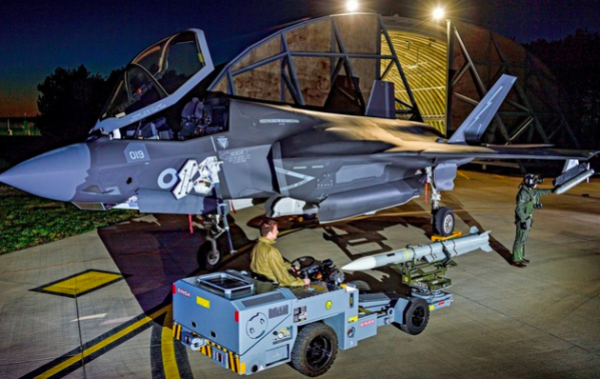 F-35 weapon capability enhancements for the UK and Italy
